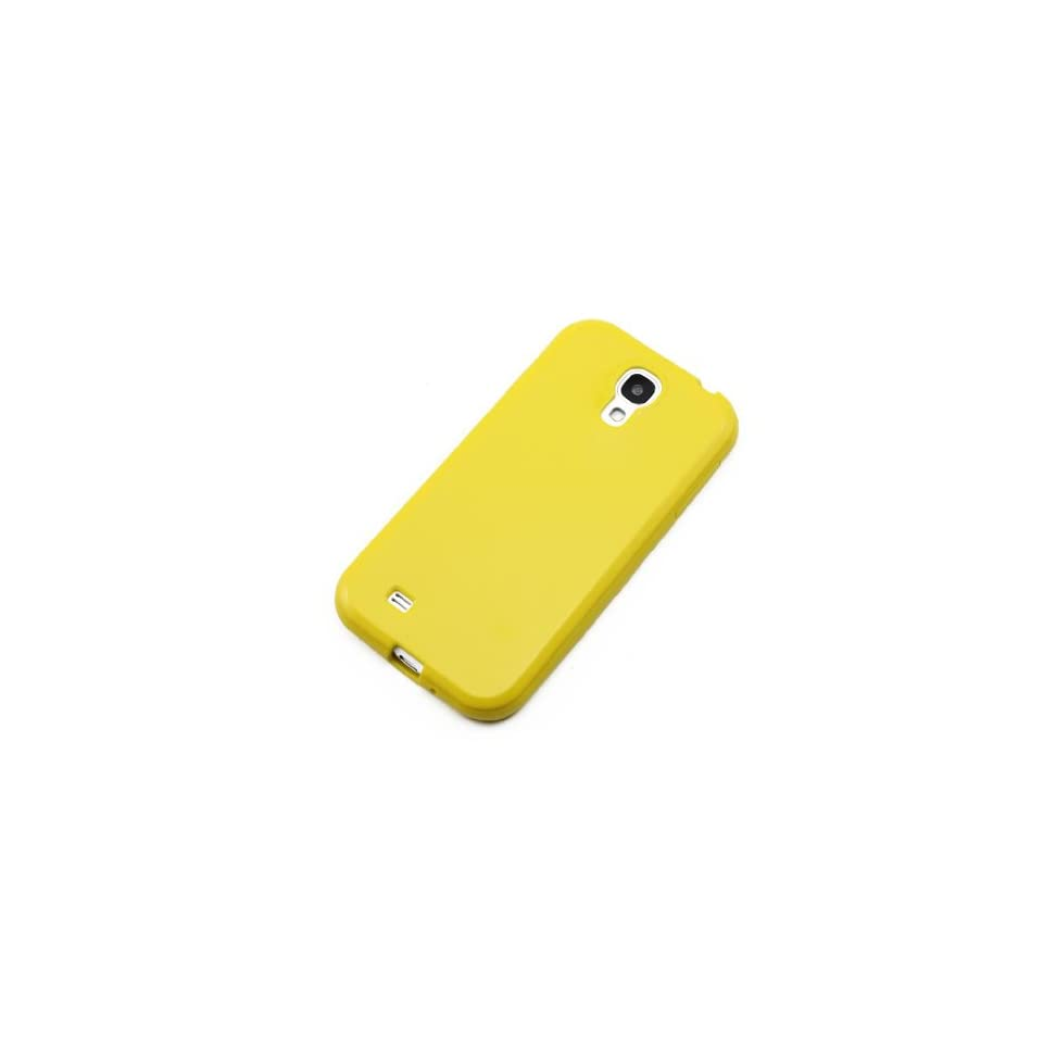 ChineOn Soft Glossy TPU Silicone Gel Cover Case Skin for Galaxy S4 S IV i9500(Yellow)