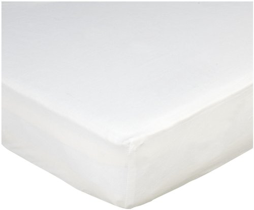 Summer Infant Crib Sheet, White, 2 Count