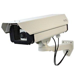 屋外ハウジング型ダミーカメラ(ロングサイズ)防犯ダミーカメラ(OS-160)【ダミーカメラ、防犯カメラ、監視カメラ】