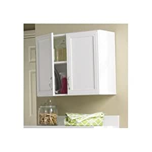 Akadahome 2 door wall cabinet kitchen dining for Kitchen cabinets amazon