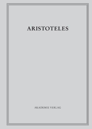 Aristoteles: Oikonomika: Schriften zu Hauswirtschaft und Finanzwesen: 10/II