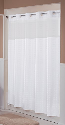 Hookless RBH43MY042 Litchfield Shower Curtain -  Bright White (Hookless Shower Curtain compare prices)