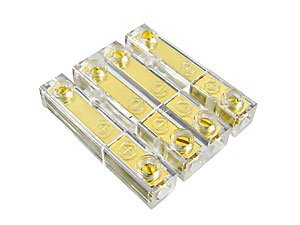 CAR-HIFI-Soundboard-4-fach-Audio-Spezial-Steckverbinder-Stereo-Buchse-bis-4-mm-Kabel-vergoldete-Stecker
