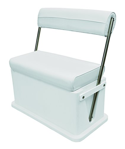 Wise Livewell-Baitwell Cooler Seat, Cuddy Brite White