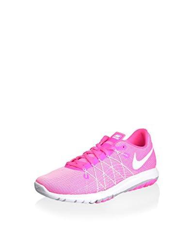 Nike Zapatillas Flex Fury (GS) Rosa / Blanco