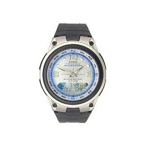 Casio #AW82-7AV Men's Analog Digital Fishing Gear Moon Data Watch
