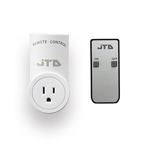 JTD 1 Pack Energy Saving Auto-programmable Wireless Remote Control Electrical Outlet Switch Outlet Plug Switch with remotes for Household Appliances Lamps, Lighting & Electrical Equipment (Remote Outlet compare prices)