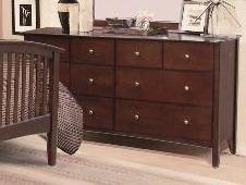 Medium Espresso Finish Dresser