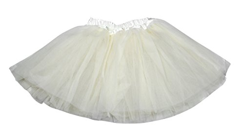 Am Clothes Girls Tutu Skirts 2-8 Years Old (Beige) front-894529