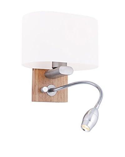 Light&Design Lámpara De Pared Bois Marrón 20 x 15 cm