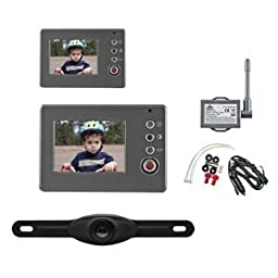Peak PKC0RA-01 Wireless Back-Up Camera System With 2.4'' LCD Color Monitor