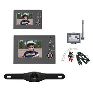 "Peak PKC0RA-01 Wireless Back-Up Camera System With 2.4"" LCD Color Monitor"