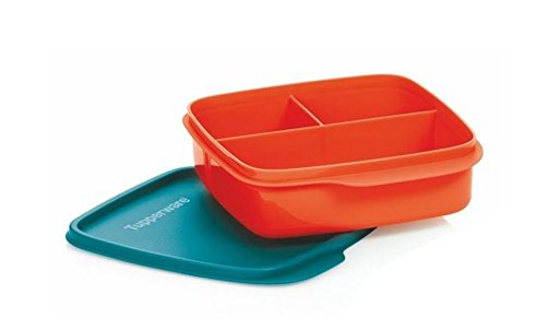 tupperware-lunchbox-behalter-mit-trennwand-550-ml-brotbox-kindi-schule-clevere-pause-rot-blau