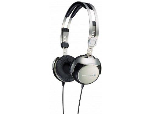 Beyerdynamic T51I On-Ear Headphones With Mic/Remote, Silver/Black