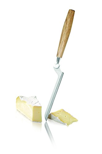 Boska Holland Soft Cheese Knife w. Oak Wood Handle, Slim Blade, Brie | Life Collection