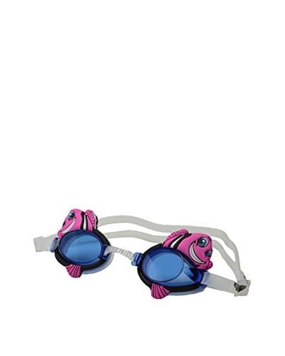 TYR Gafas de Natación Fish Blanco / Rosa