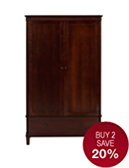 Sutton Double Wardrobe