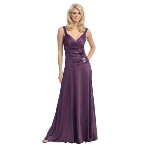 Sexy Bridesmaid Formal Prom Gown Dress