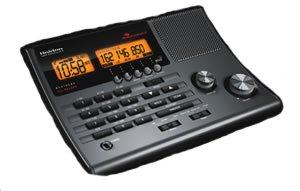 New Uniden Bearcat Scanner Backlit Display Weather Scan Am Fm Radio 30 Presets Alarm Clock Snooze