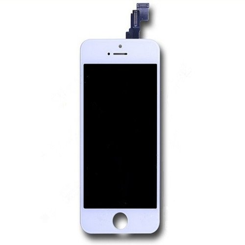 Partsdeal Touch Screen Digitizer Glass With Flex Ribbon Cable & Lcd Display Assembly Replacement For Iphone 5C (White)
