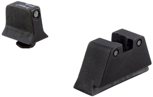 Trijicon Glock Suppressor Black Outline Night Sight Set With Green Lamps