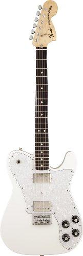 Fender フェンダーUSA クリス シフレットテレキャスター デラックス アーティクルホワイト Chris Shiflett Telecaster Deluxe, Rosewood Fingerboard, Arctic White[並行輸入]