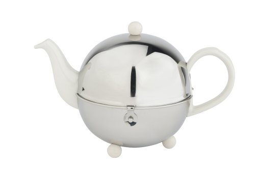 bredemeijer Cosy Teapot, 1.3-Liter, Ceramic Spring White with Insulted Shell (Teapot Cosy compare prices)