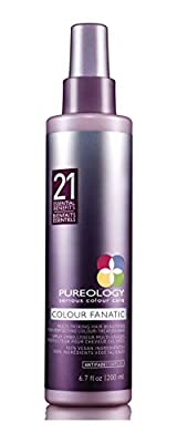 Pureology Colour Fanatic Hair Treatment Spray with 21 Benefits, 6.7 Ouncers