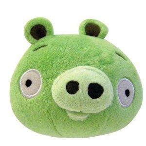 Angry Birds Peluche mini cerdo con sonido - 10 cm