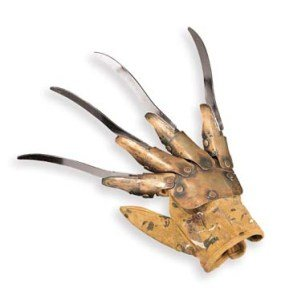 Freddy Krueger Glove Metal Deluxe Costume Accessory