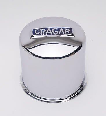 Cragar 29277-1: Center Cap, Steel, Chrome Plated, Push-Through, Dome, Each (Cragar)