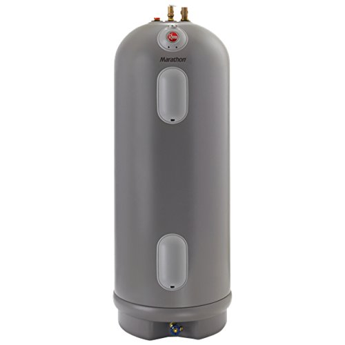 Rannai Tankless Water Heater Review of 85 Gallon Rheem MR85245 Electric Water Heater
