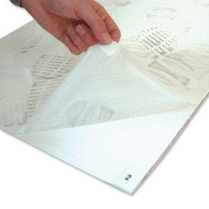 Primer paso estera cobá superficie anti-contaminación W450xD1170xH1, 30 capas 5mm óvulo WC000004 [Pack 4]
