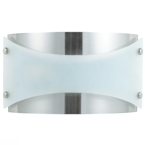 Cal Lighting LA 164A BS Wall Sconce with Frosted Glass Shades