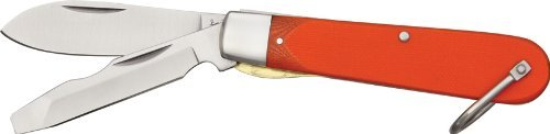 Marbles Outdoors Knives 305 Electrician's Knife with Orange G-10 Handles