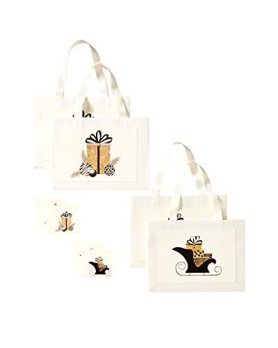 s.e.hagarman Glitzy Holiday Gift Bag Set