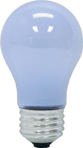 Ge 48698-12 60-Watt Reveal Ceiling Fan Clear A15 Light Bulbs, 12-Pack