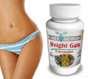 (60 Tablets) Planet Ayurveda Weight Gain Formula (GAIN CURVES) - Gain weight women - Helps skinny Women gain weight. Fast Weight gain. Gain fast weight for women. Get a Brand New booty, hips and bust! Works great as Butt Enlargement / Butt Enhancement Gain weight pills Qty 60.