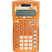 Texas Instruments TI-30X IIS 2-Line Scientific Calculator - Orange