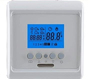 digitaler raumthermostat fu bodenheizung dc843. Black Bedroom Furniture Sets. Home Design Ideas