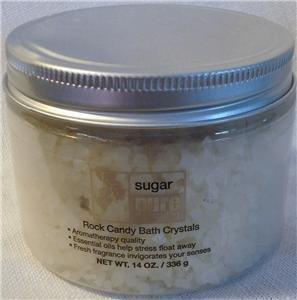 Pure Spring Sugar Rock Candy Bath Crystals 14 Oz