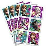 DISNEY FROZEN ELSA ANNA STICKERS- 4 SHEETS