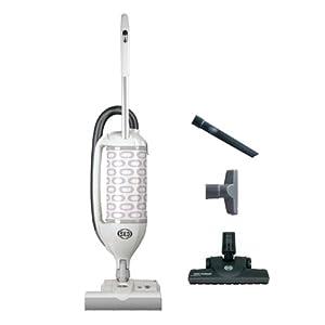 Sebo Vacuums 9808AM Felix Premium Upright Vacuum with Parquet, White