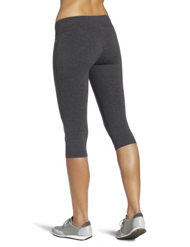Spalding Women's Capri Legging, Charcoal, X-Large