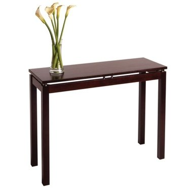 Cheap Linea Console-Hall Table with Chrome Accents and Espresso Finish by Winsome Wood (B004H8VIA2)