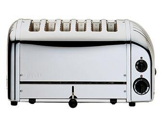 Dualit 6 Slice Toaster Stainless Steel 60144