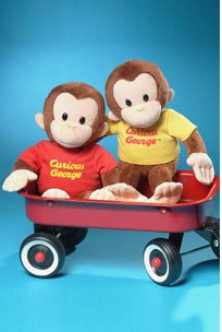 Set of 2 Curious George 12