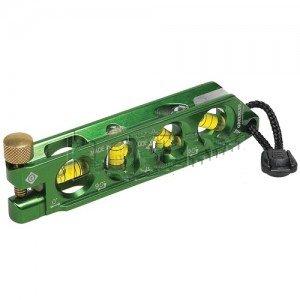 Greenlee L77 Professional Grade Electrician's Mini Magnetic Bubble Level-2PK