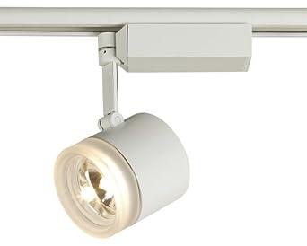 Lightolier Glass Cylinder White Track Head Track Lighting Heads