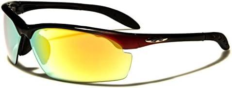 X-Loop Hijack Sonnenbrillen - Sport - Radfahren - Skifahren - Laufen - Autofahren (Vented Linse)